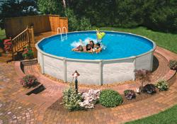Zwembaden zwembadstructuren seniorennet voor mensen for Groot opzetzwembad