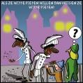 allemaal witte pieten....