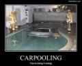 Carpooling...