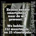 zonder smartphone....