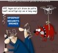 drones? niet bang van....