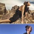 fotomodel versus gewoon...bijna hetzelfde...