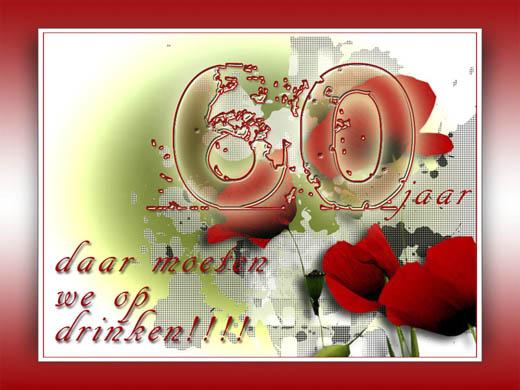 verjaardagskaart 60 jaar gratis Gratis Verjaardagskaarten 60 Jaar   ARCHIDEV verjaardagskaart 60 jaar gratis